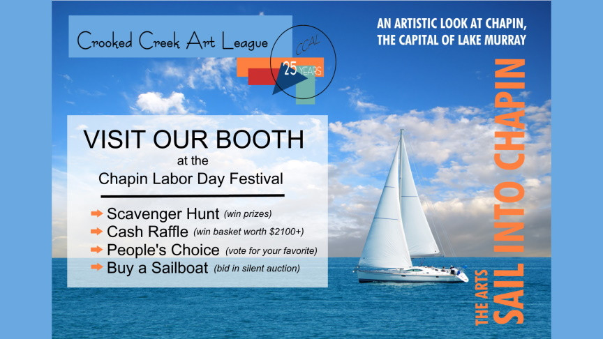 Sail into Chapin Visit Our Booth Announcement