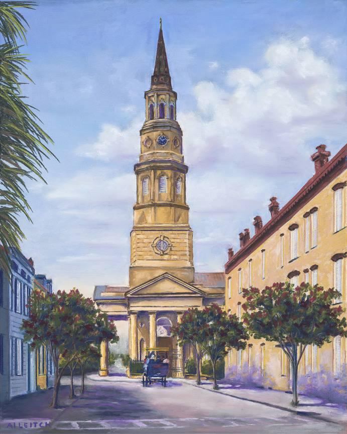 """St Philips Church"" by Al Leitch"
