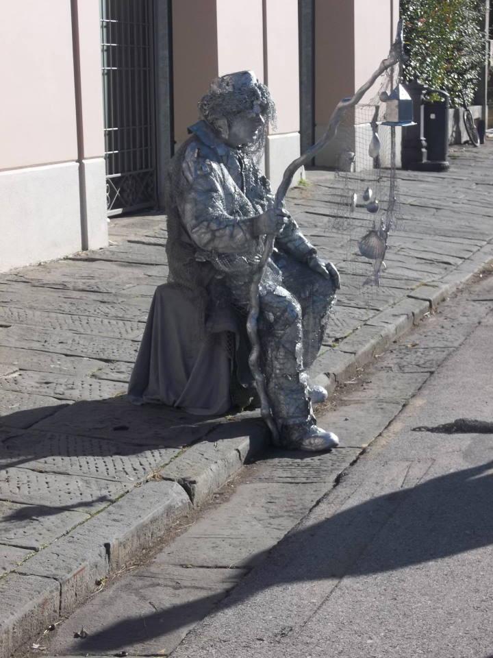 Street Sculpture in Pisa
