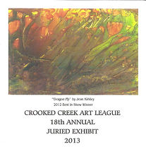 Crooked Creek Art League;2013 Annual Juried Art Show