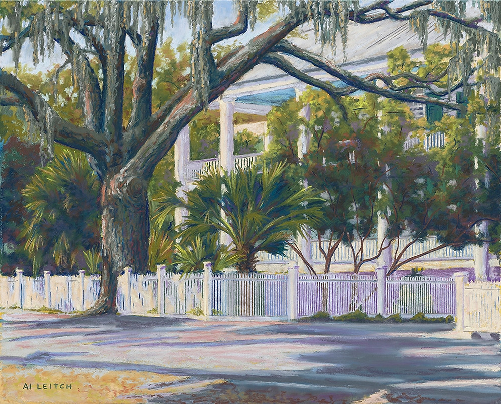 "Painting: ""Bay Street"" by Al Leitch"