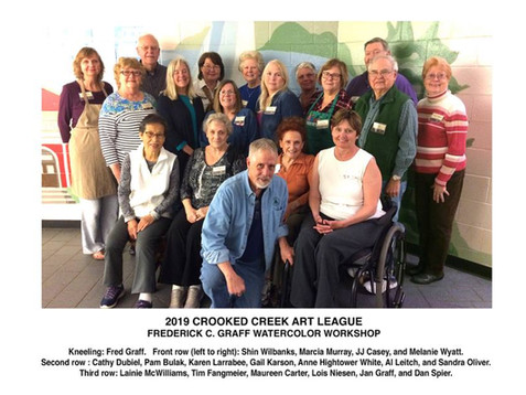 "Photo Gallery of Presentation and Workshop: Frederick C. Graff ""Watercolor Workshop"""