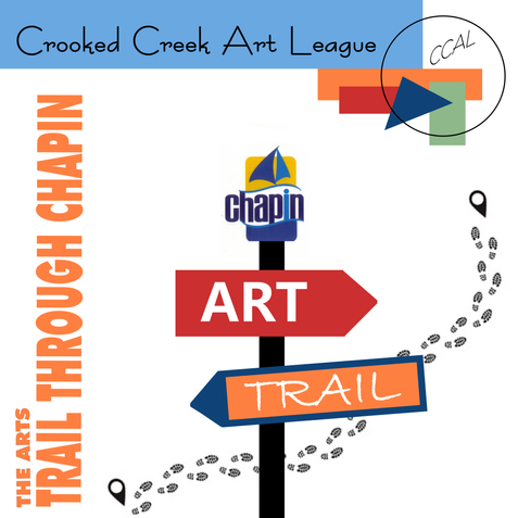 """The Arts """"Trail  Through Chapin"""" - CCAL Launches All New Community Art Project"""