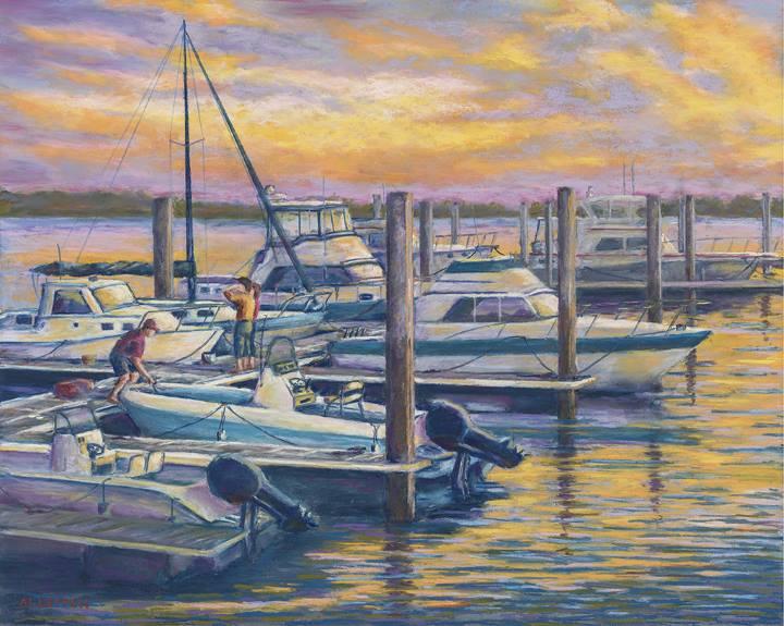 """""""Marina Sunset"""""""