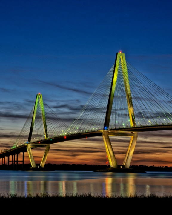 Blue Hour Bridge-2