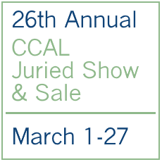 Icon for 26th Annual CCAL Juried Show
