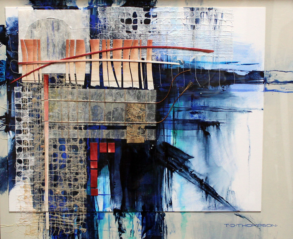 """Mixed Media artwork """"Time Passages"""" by Tommy Thompson"""