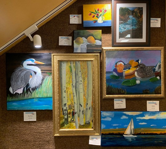 Artwork Display by Mary Collette