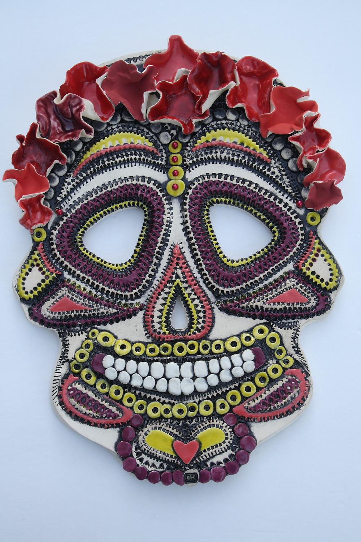 """Ceramic Artwork: """"Frida"""" by Olga Yukhno"""
