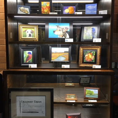 TAP Gallery Display Cabinet: Oct-Nov 2020