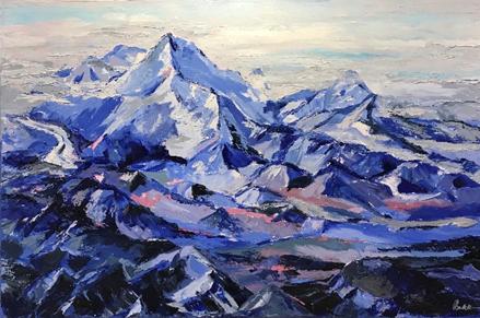 Painting by Pam Bulak