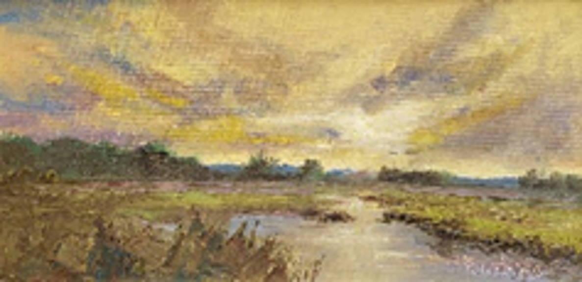 """Marsh at Sunset"""