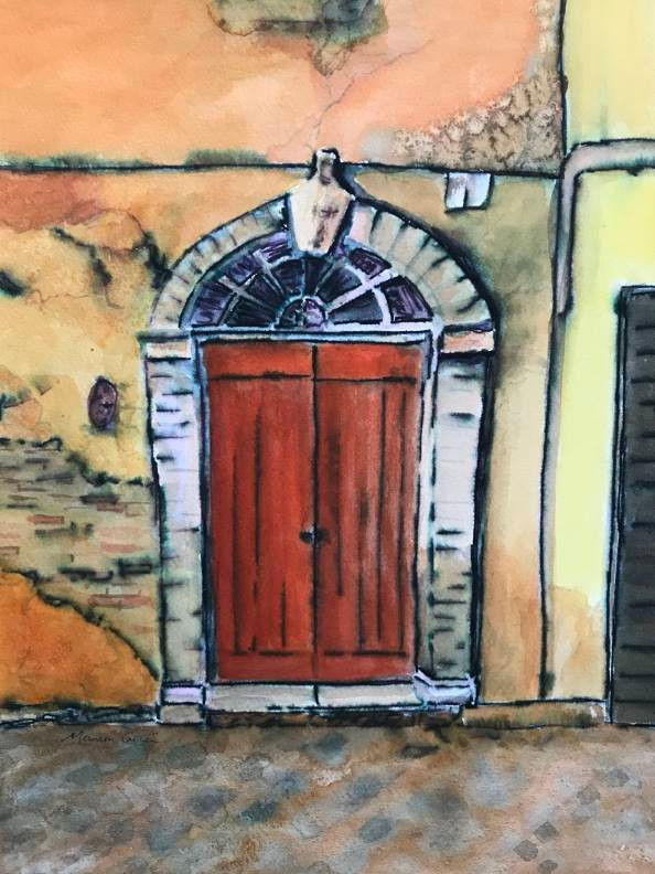 """Roman Doorway"" by Maureen Carter"