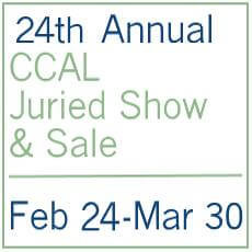 Logo for 24th Annual CCAL Juried Show & Sale