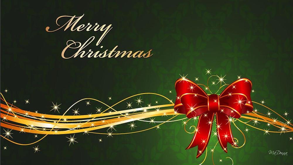 Merry Christmas Banner Image
