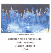 2009 Juried Show Program Cover
