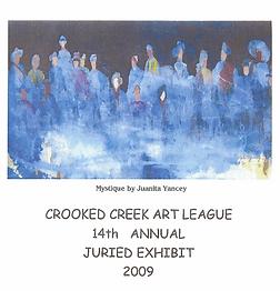 2009 Juried Show Program Cover