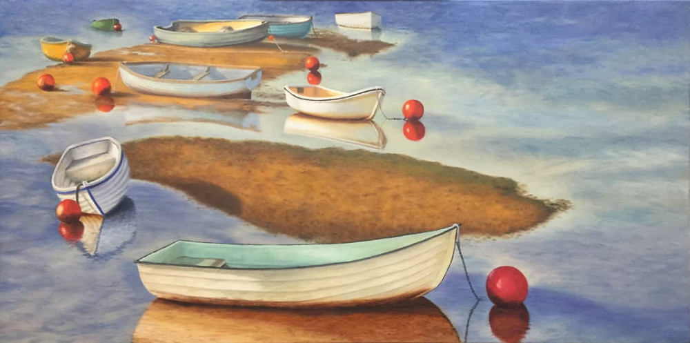 """Painting """"Low Tide"""" by Barbara Teusink"""