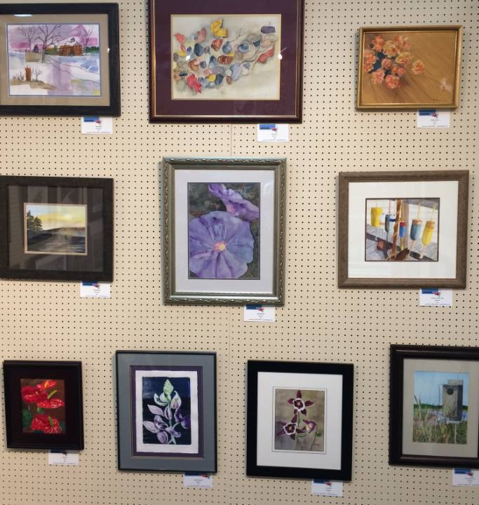 Artwork display - art by Tommy Thompson