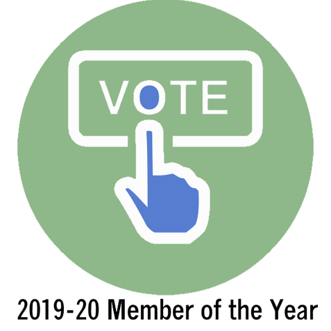 2019-20 Member of the Year - We need your vote!