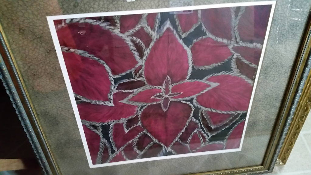 "Painting: ""Coleus"" by Adelia ""Dee Dee"" Ruth"