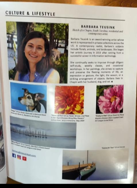 Magazine Feature: Barbara Teusink