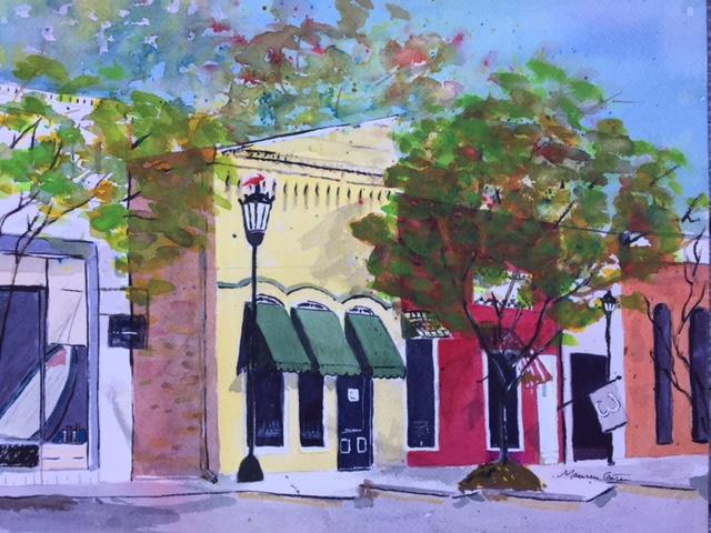 Down Beaufort Street-Chapin