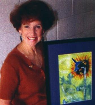 Photo of artist Ingrid Carson