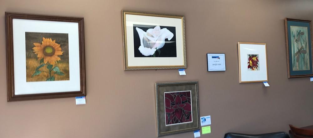 Adelia Ruth display at The Coffee Shelf
