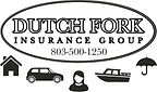 Dutch Fork Insurance.Black and White Log
