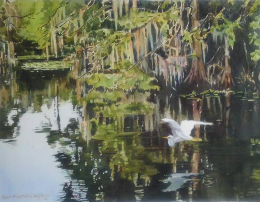 """Low Country Swamp"" by Anne Hightower-Patterson White"