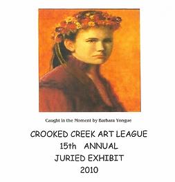 2010 Juried Show Program Cover