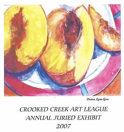 2007 Juried Show Program Cover