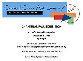 2018 Still Hopes Exhibition Program Cover