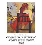 2008 Juried Show Program Cover