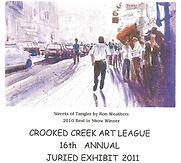 2011 Juried Show Program Cover