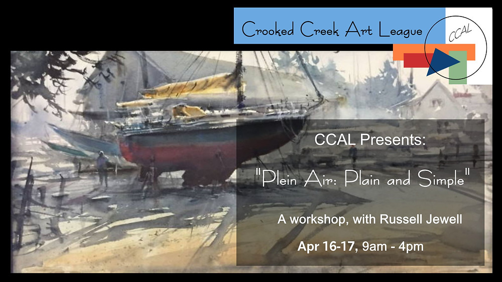 Graphic for Business of Art Workshop