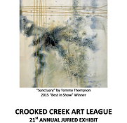 2016 Juried Show Program Cover