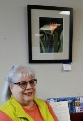 Photo of artist Karen Larrabee