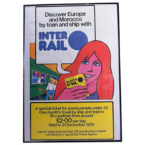 Railway Poster Inter Rail full 1