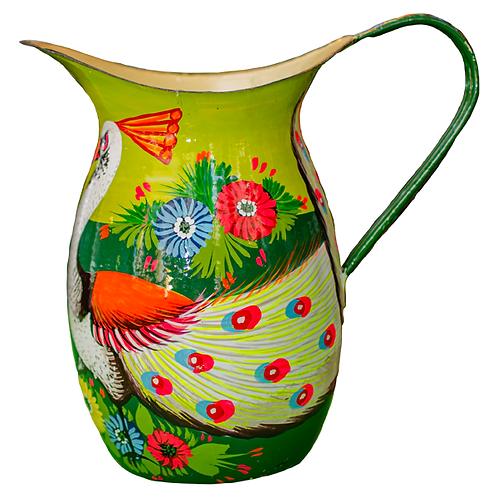 Stunning Enamel jug