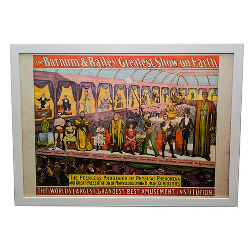 Barnum and Bailey Circus World Museum Vintage Poster 1