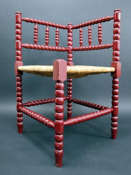 Corner chair - Wood - Late 19th century
