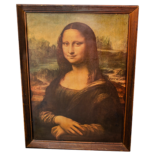 Mona Lisa by Leonardo Da Vinci (reproduction)