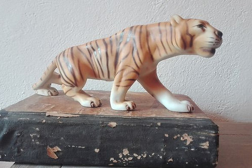 Royal Dux Figurine of a rather large Tiger