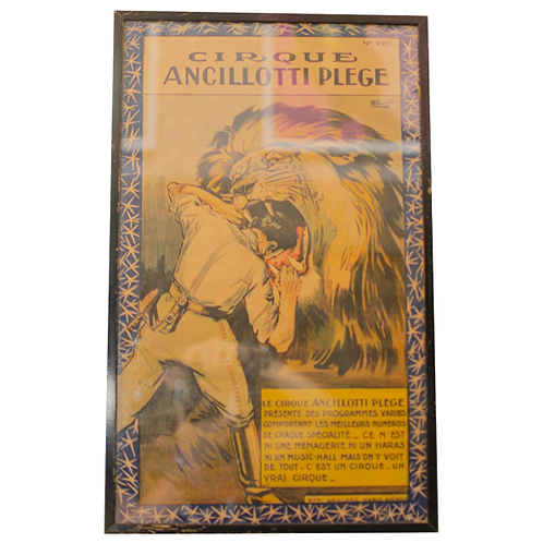 Circus Cirque Ancillotti Pledge poster 1910 1