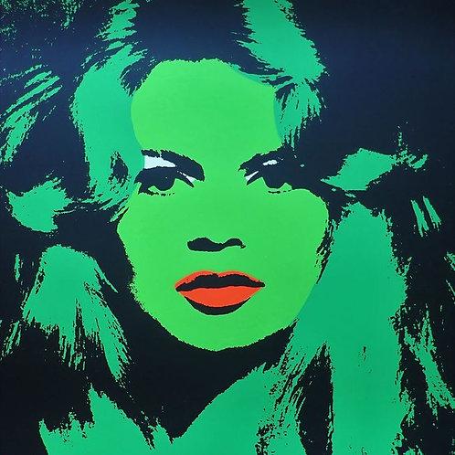 Andy Warhol: Brigitte Bardot, 1974. Andy Warhol Foundation