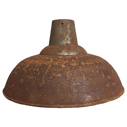 Metal Pendant Lampshade Full Rust full 1