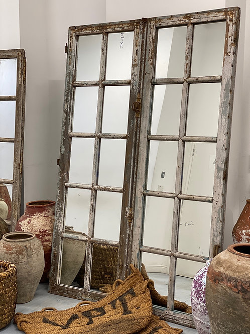 Large Floor Standing Mirrors Reclaimed French Chateau Doors