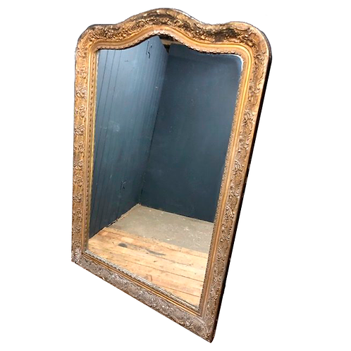 Huge Decorative Victorian mirror circa 1860 1